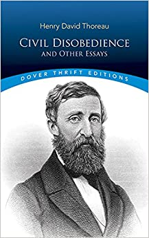 thoreau civil disobedience and other essays