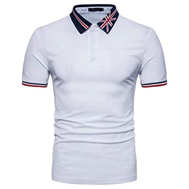 Polo Camisa De Verano De Los De Hombres Simple Estilo Moda Self ...