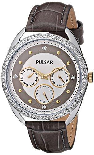 Pulsar Women's PP6181 Analog Display Japanese Quartz Grey Watch