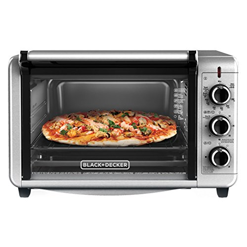 Countertop Toaster Convection Oven Reviews : BLACK+DECKER TO3210SSD Countertop Convection Toaster Oven, Silver in ...