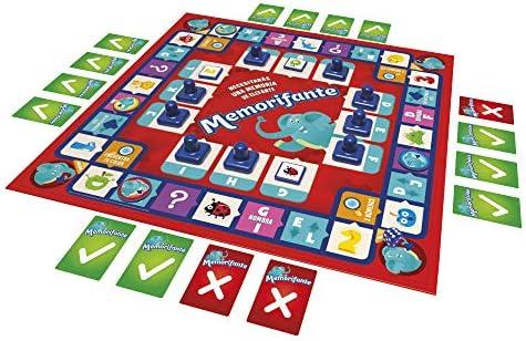 Falomir Memorifante, Juego de Mesa, Educativo, Multicolor (1): Amazon.es: Juguetes y juegos