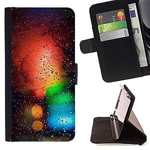 Momo Phone Case / Flip Funda de Cuero Case Cover - Colores Bokeh;;;;;;;; - Sony Xperia Z3 Compact