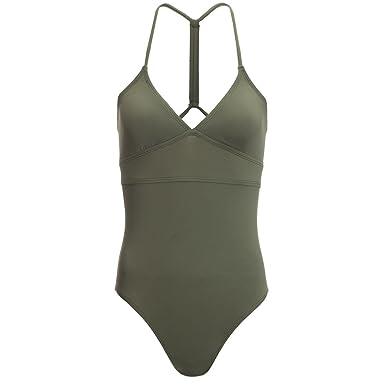 66c7d159a0003 Amazon.com: Carve Designs Dahlia One-Piece Swimsuit - Women's Reed ...