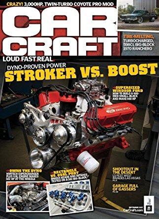 CAR CRAFT Magazine~DYNO-PROVEN POWER STROKER VS. BOOST+COYOTE PRO MOD