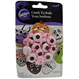 Wilton 2201-1601 Candy Eyeballs Large Red Veins