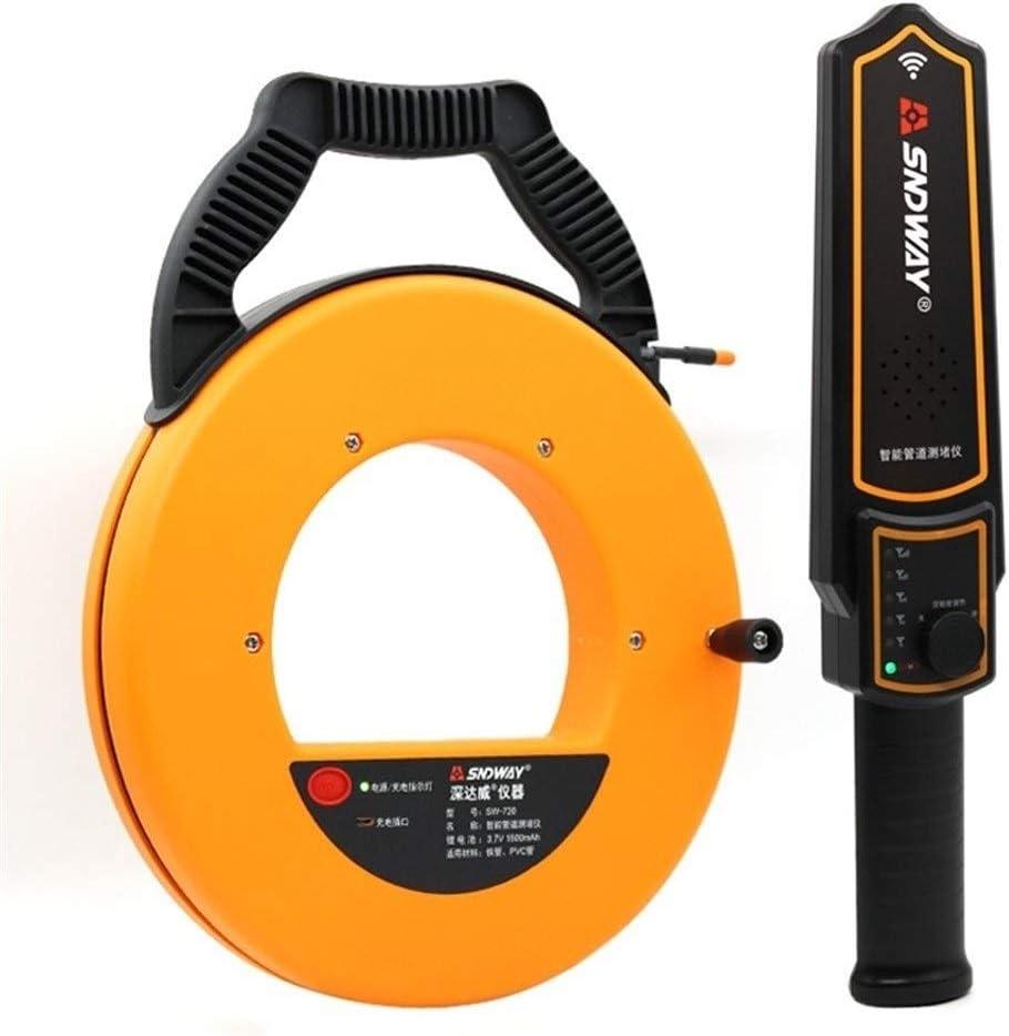 MM-tester Digital 20 Pipe Scanner Thickness Gauge Pipeline Blockage Blocking Clogging Finder Plumbers Width Measure Instrument Precise