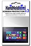 HHI Anti-Fingerprint, Anti-Glare, Matte Finished Screen Protector for Sony Vaio Tap 11 (3 Pack)