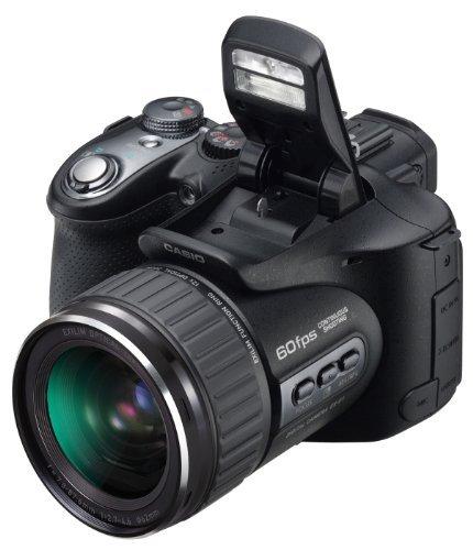Casio Exilim Pro EX-F1 Digital Camera, 6.0 MP, with 60fps High Speed Burst Mode, Full HD Movies, 12x Optical, 4x Digital Zoom, 2.8