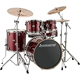 Ludwig Element Evolution 5-piece Drum Set 6