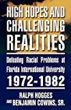 High Hopes and Challenging Realities, Ralph Hogges and Sr. Cowins, 1462650686