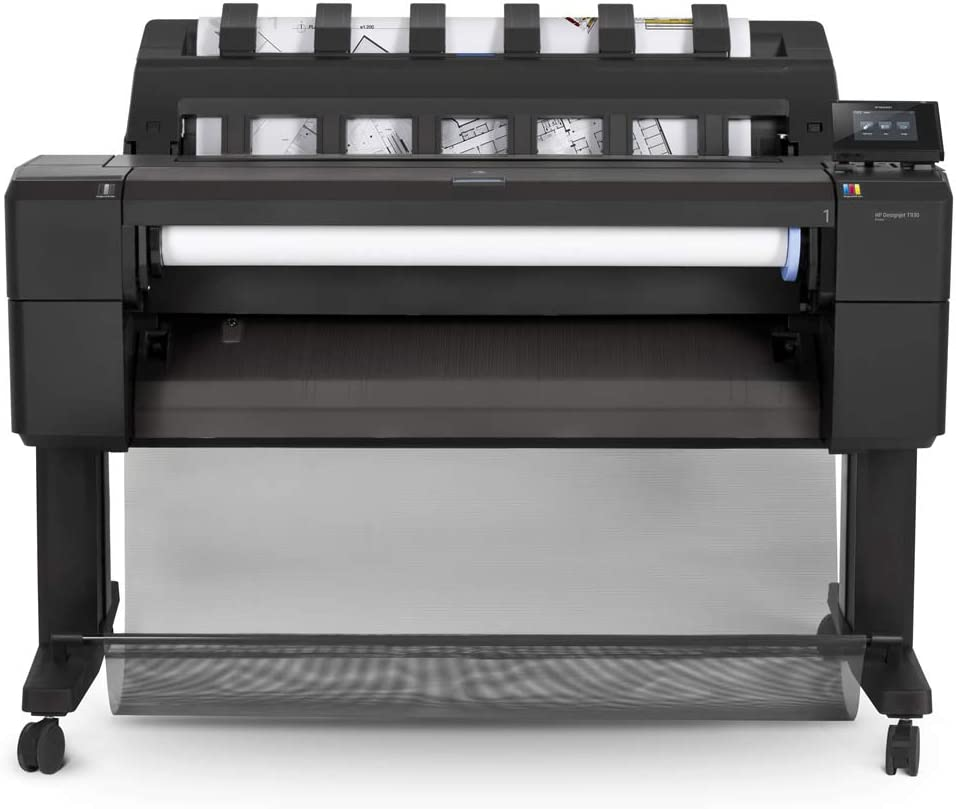 HP Designjet T930 - Impresora de gran formato (HP-GL/2, HP-RTL, PDF 1.7, TIFF, URF, 2400 x 1200 DPI, Cian, Gris, Magenta, Negro mate, Foto negro, Amarillo, A0 (841 x 1189 mm), 3