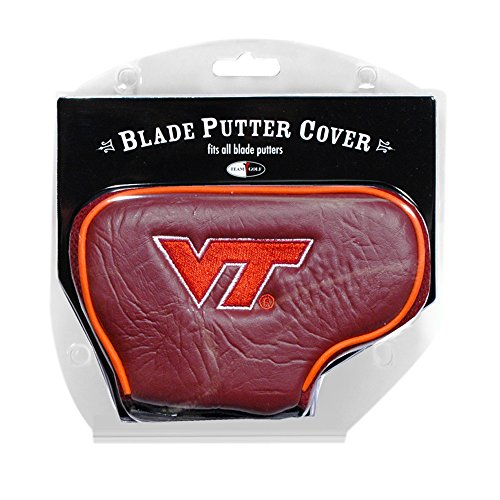 Virginia Tech Hokies Golf Putter - Team Golf NCAA Virginia Tech Hokies Blade Putter Cover