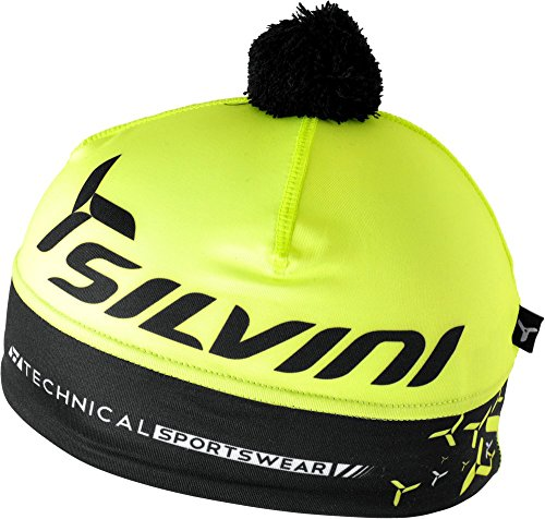SILVINI Lightweight Beanie in Yellow with Thermal Retention for Winter - Size S/M