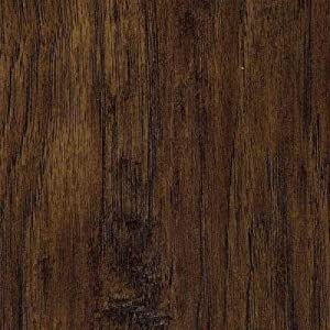 Trafficmaster Handscraped Saratoga Hickory 7 Mm Thick X 7 2 3 In Wide X 50 5 8 In Length Laminate Flooring 24 17 Sq Ft Case