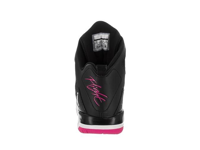 Scarpa da basket Nike Kids SC 3 GG nera bianca rosa