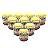 used beer caps - HAWORTHS 100 PCS Crown Bottle CaPs Decorative Bottle CaP Double Sideds Printed Craft Bottle Stickers for Hair Bows, DIY Pendants or Craft ScraPbooks Mixed Colors(10colors)
