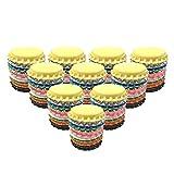 HAWORTHS 100 PCS Crown Bottle CaPs Decorative