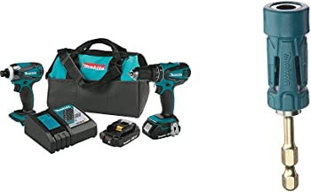 Makita 18V Li-Ion Compact Cordless 2-Pc. Combo Kit Bundle
