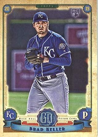 55597347990 2019 Topps Qypsy Queen  230 Brad Keller Kansas City Royals Rookie Baseball  Card