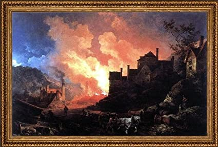 Coalbrookdale by Night | amazon.com