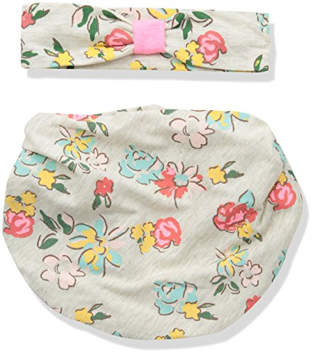 Lovespun Baby Perfect Picture 2 Piece Headband and Infinity Bib Set, Floral, 0-6 Months (Headband 2 Piece)