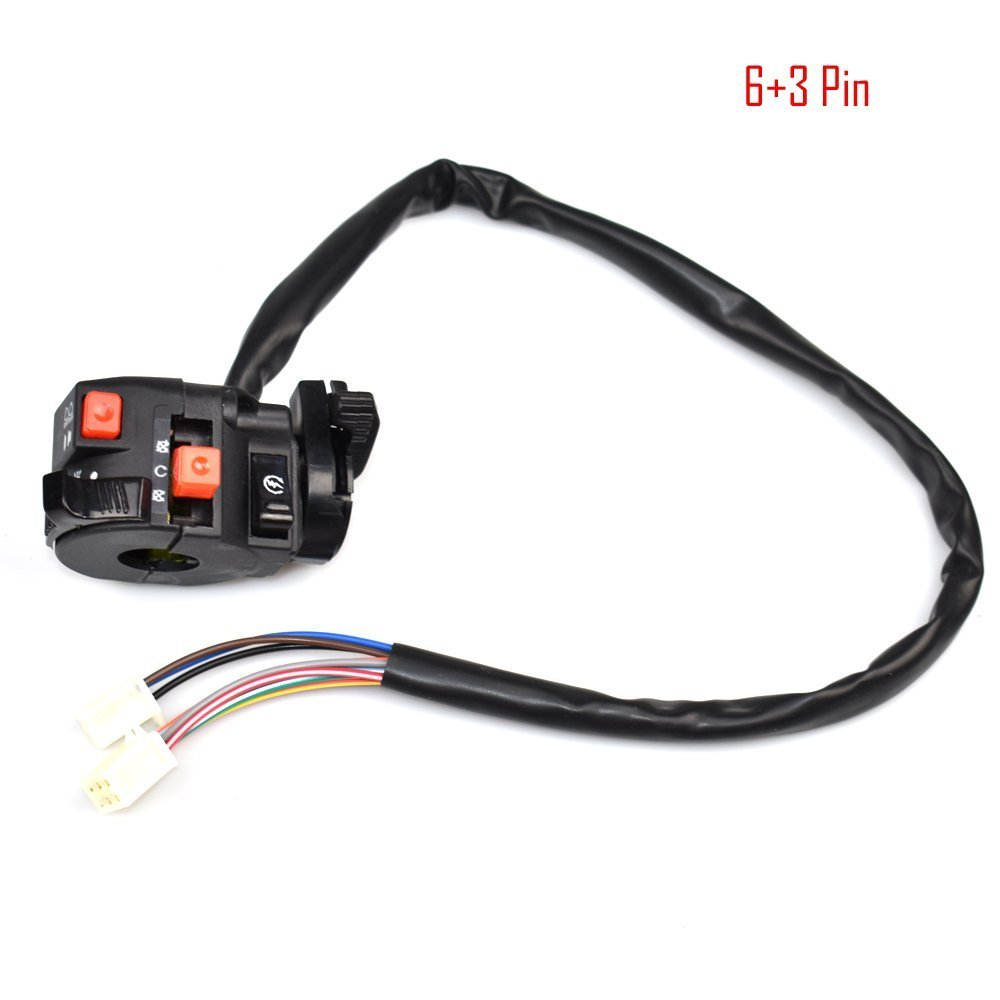 Jikan Annpee Complete Wiring Harness Kit Wire Loom Yamoto Cdi Wires Diagram Electrics Stator Coil For Atv Quad 4 Four Wheelers 150cc 200cc 250cc Go Kart Dirt Pit