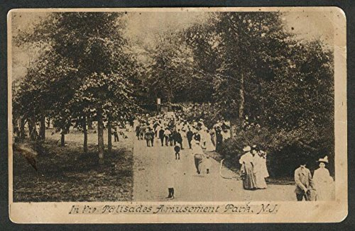 Palisades Amusement Park NJ postcard 1919 from The Jumping Frog