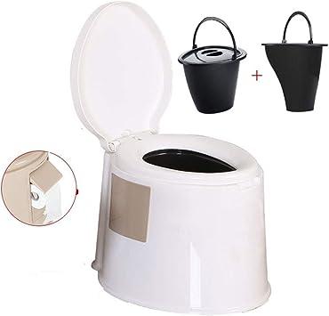 Thole Portátil Químico Baño WC con Tapa para Camping Viaje ...