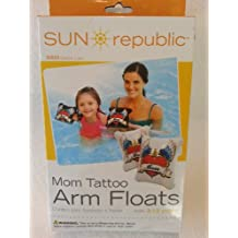 Mom Tattoo Design Arm Floats - Learn to Swim - Children ages 3-12