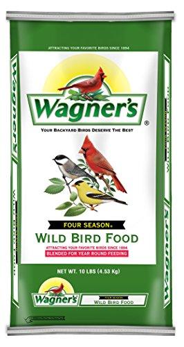 - Wagner's 13002 Four Season Wild Bird Food, 10-Pound Bag