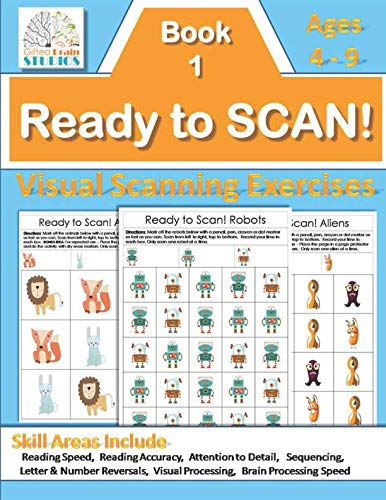 Ready to Scan! Beginners: Visual Scanning Exercises for Young Students (Ready to Scan! Visual Tracking Exercises) ()