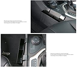 Highitem Mobile Phone Store Box Sundry Collection Locker Keys Card Store Box For Jeep Cherokee 2014up