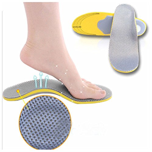 1 Pair Premium Orthotic Shoes Insoles Insert High Arch Support Pad For Women Men from Unbranded*