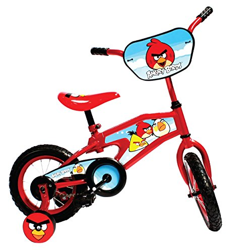 Angry Birds Kid's Bike, 12 inch Wheels, 8 inch Frame, for Boys and Girls, Red -  Cycle Force Group, 6ABBK267WM