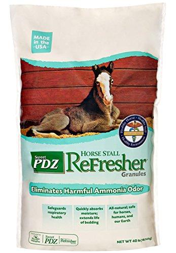 Manna Pro Sweet PDZ Horse Stall Refresher Granular, 40-Pound