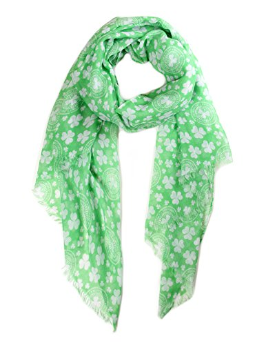 S-795-33S St. Patricks Day Scarf - Green Small (Scarf Day Bag)