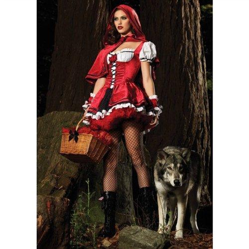 Freefisher Damen Sexy Rotkappchen Kostum Amazon De Spielzeug