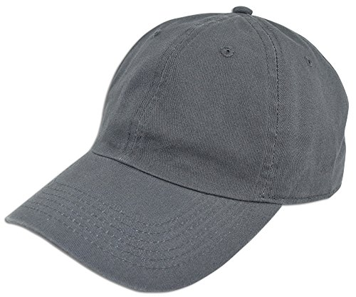 Low Profile Style Cap (Cotton Classic Dad Hat Adjustable Plain Washed Cap Polo Style Low Profile Unstructured)