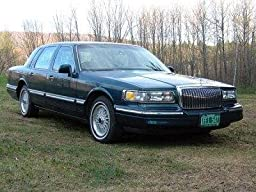 Amazon Com 1997 Lincoln Town Car Reviews Images And Specs Vehicles