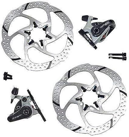 F+R TRP SPYRE Road Alloy Mechancial  Disc Brake Set 160mm Rotor