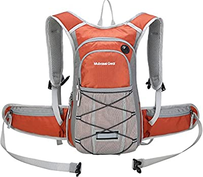 Insulated Hydration Backpack Pack with 2L BPA FREE Bladder - Keeps Liquid Cool up to 4 Hours – For Running, Hiking, Cycling, Camping