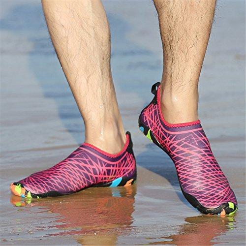 Beach Quick Socks rose Water Aqua Skin Men C3 Shoes Women Swim Sports PENGCHENG Barefoot Dry AX7zf6Zpp
