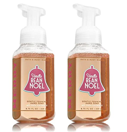 Vanilla Bean Noel Gentle Foaming Hand Soap, 2 Pack (Vanilla Foaming Bean)