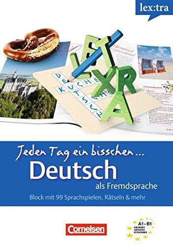 Lextra - Deutsch als Fremdsprache - Jeden Tag ein bisschen Deutsch: A1-B1: Band 1 - Selbstlernbuch