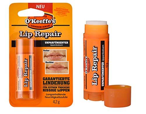 O'Keeffe's Lip Repair Unparfümierter Lippenbalsam