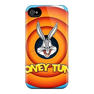 For Generic Case Iphone Protective Case, High Quality For Iphone 4/4s Bugs Bunny Looney Tunes Skin Case Cover by mcsharks