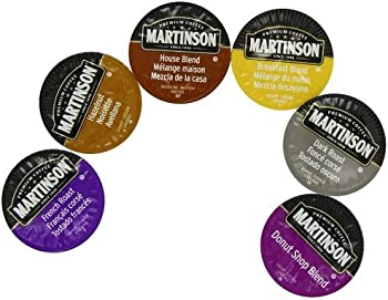 Martinson Coffee K-Cups at Amazon