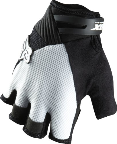 - Fox Head Men's Reflex Gel Short Glove, Black/White, X-Large
