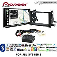 Volunteer Audio Pioneer AVIC-W8400NEX Double Din Radio Install Kit with Navigation, Apple CarPlay and Android Auto Fits 2009-2015 Toyota Venza with Amplified System