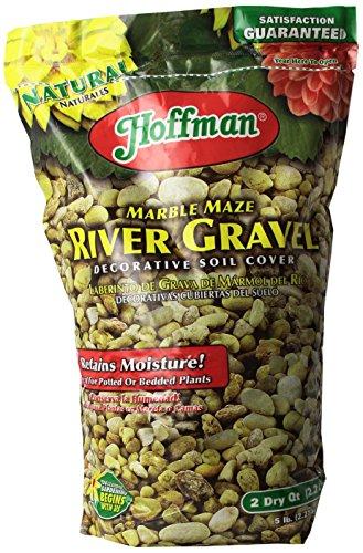 (Hoffman 14202 Marble Maze River Gravel, 2 Quarts)